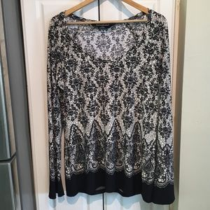 Norma Kamali Scoop Neck Top Size XL